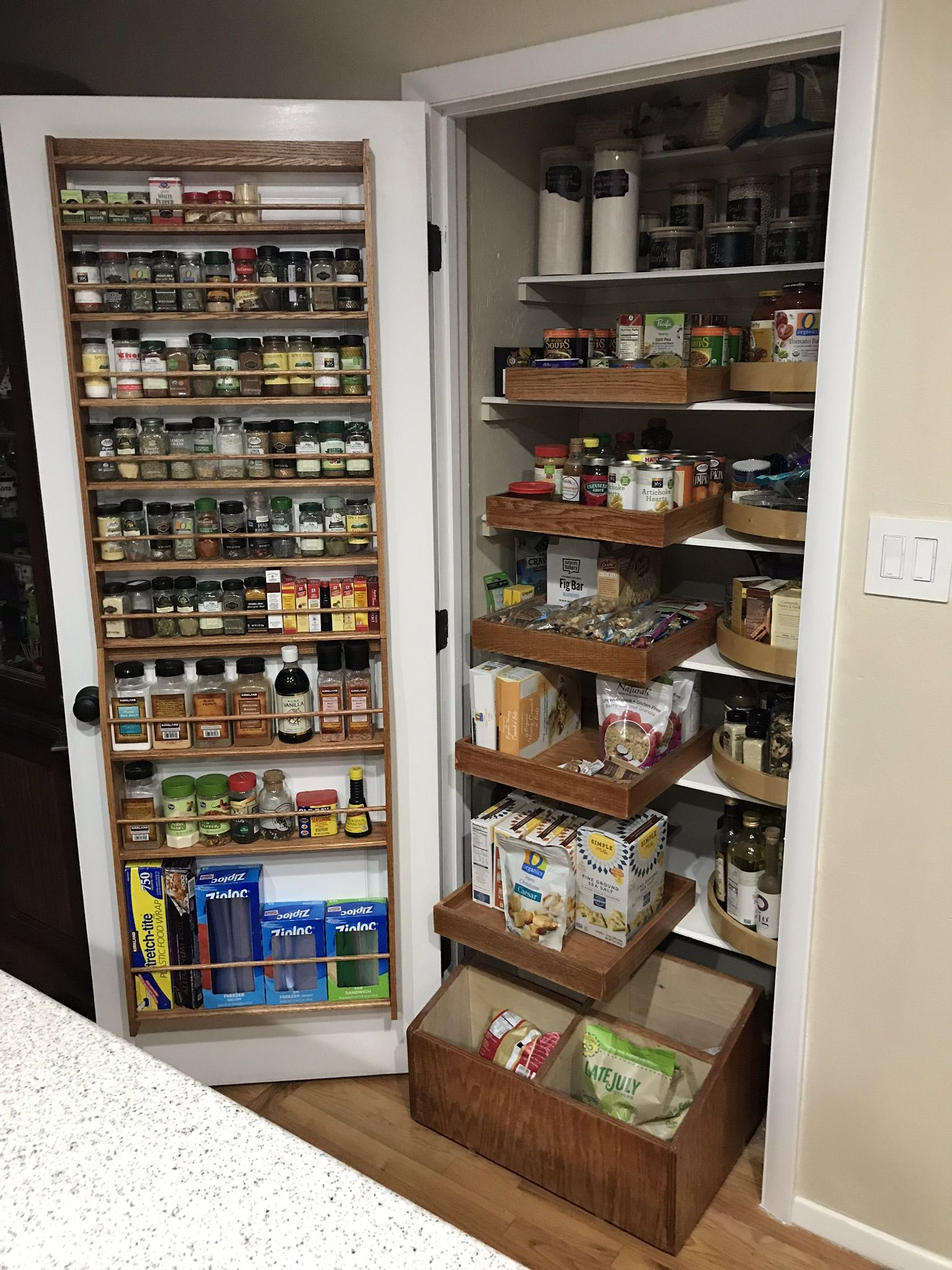 My Goal Was To Maximize Usable Space In A Small Pantry I Think It