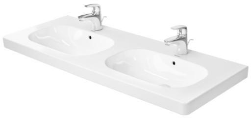 D Code Double Furniture Washbasin 034812 Duravit Wall Mounted Bathroom Sinks Modern Bathroom Sink Modern Bathroom Decor