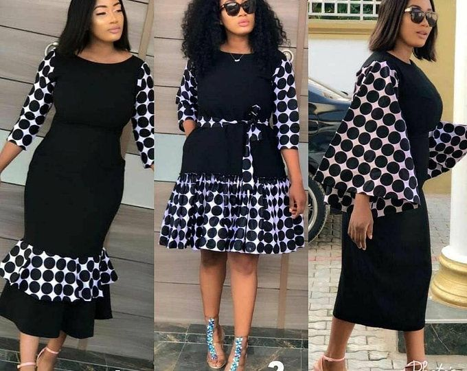 African print dress, Africa women dress, Ankara dress, dress, African dress. Many other fabric choices available, boho dress #afrikanischerdruck