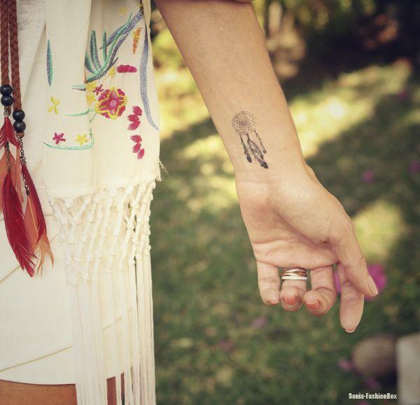 Tattoo Attrape Reves Poignet Femme Tatouage Attrape Reve Poignet