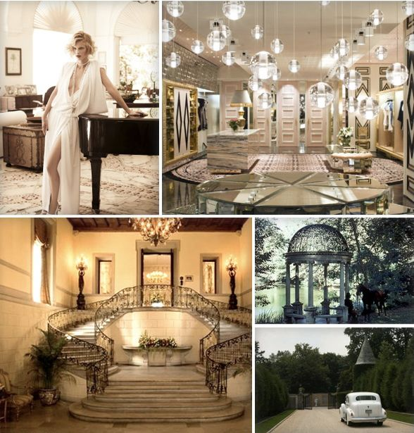 Great gatsby house interior the image for Great home interiors