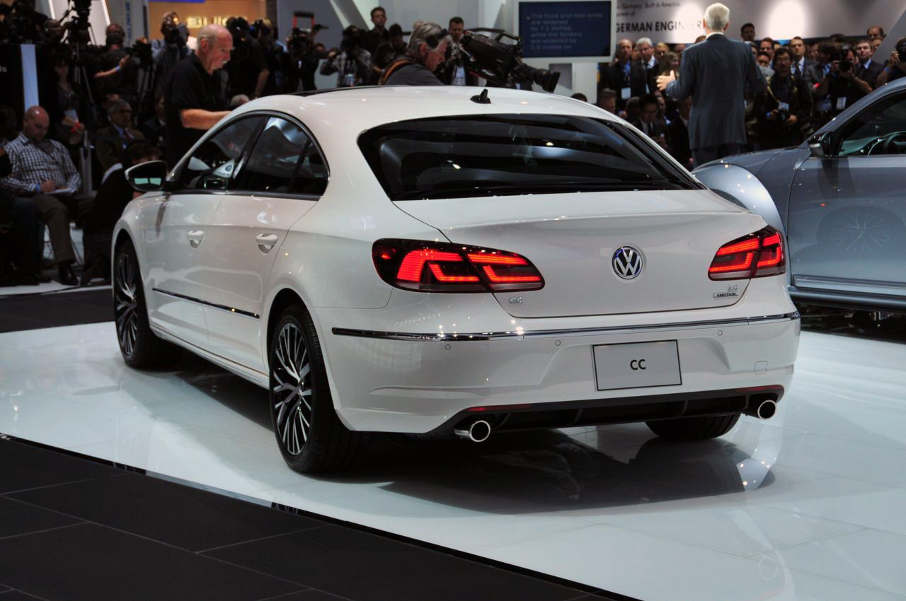 2013 CC VW A Shockingly Beautiful Sedan Лос анджелес