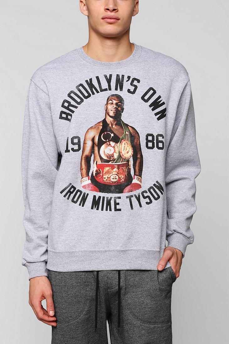 7ab76787840966 Iron Mike Tyson Pullover Sweatshirt