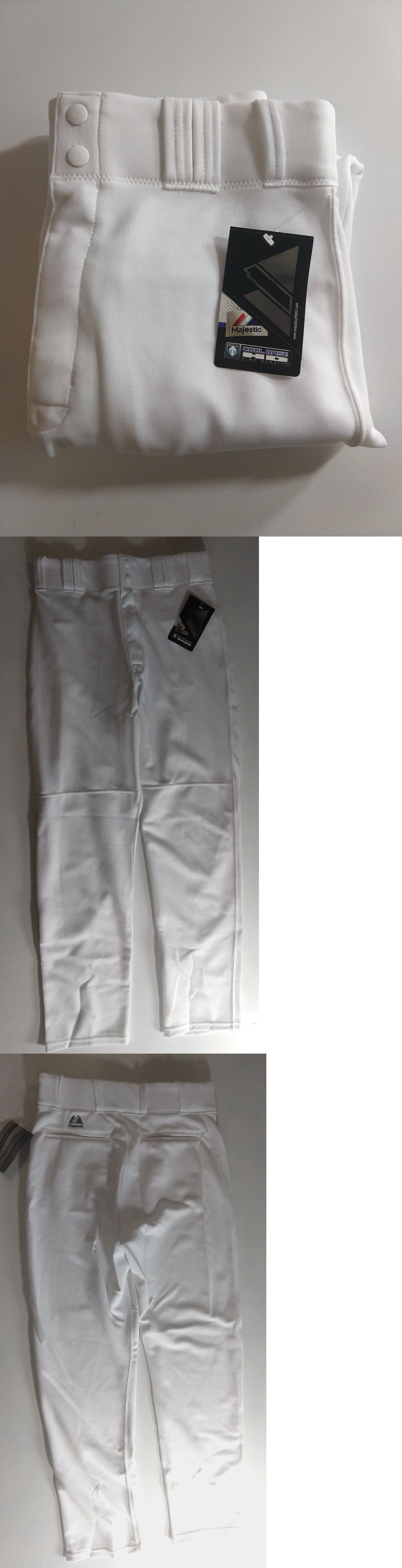 abe79b6775f9 Baseball Pants 181337  New Majestic Mlb Adult Cool Base Baseball Pants  White Style 8950 -  BUY IT NOW ONLY   19.99 on eBay!