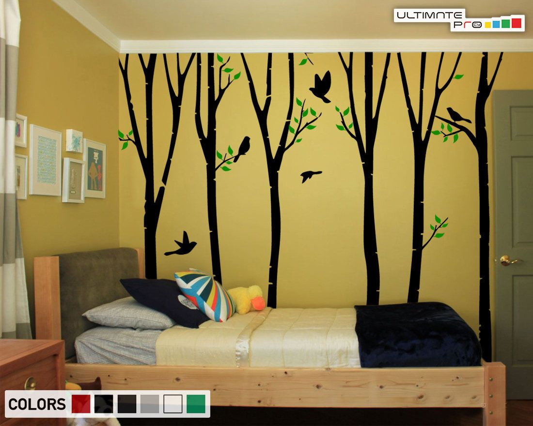 Perfect Birch Wall Art Model - The Wall Art Decorations ...