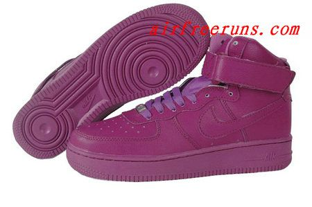 buy online b2153 8c31a Classic Nike Air Force 1 High QK Red Plum  cheap  nike  shoes