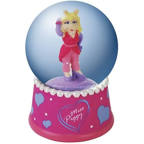 11.99 Muppets Miss Piggy Water Globe