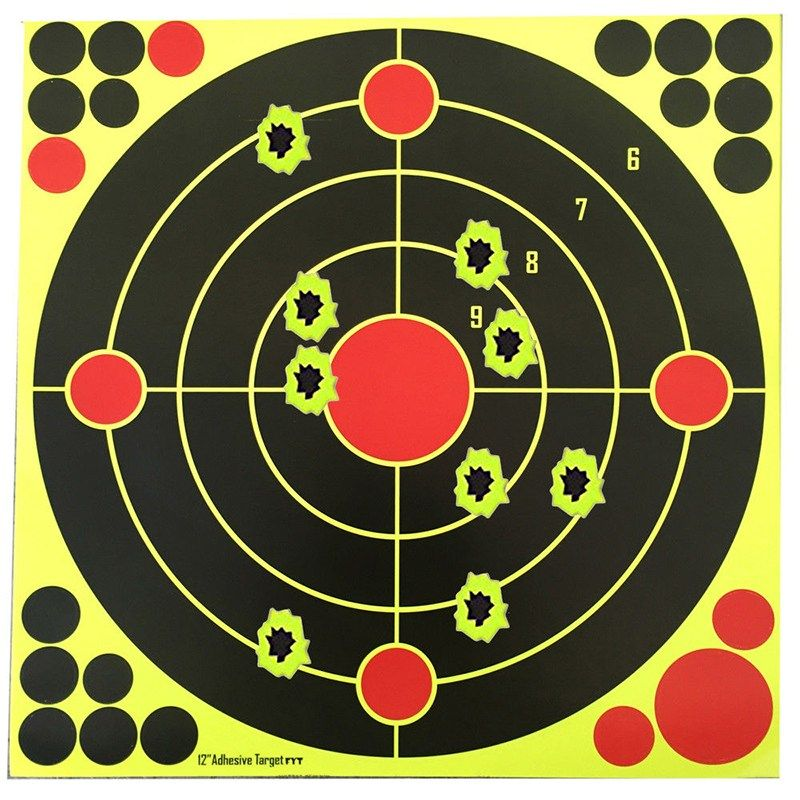 5//10pcs Splatterburst Targets Adhesive Target Stickers Hunting Shooting TDO