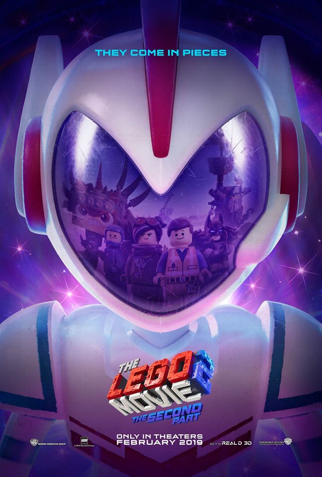 The Lego Movie 2 Official Poster Trailer tomorrow Lego