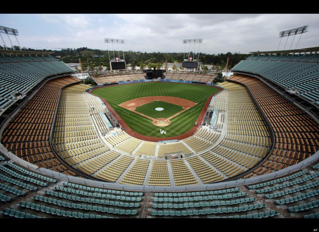 Dodger Stadium at Chavez Ravine