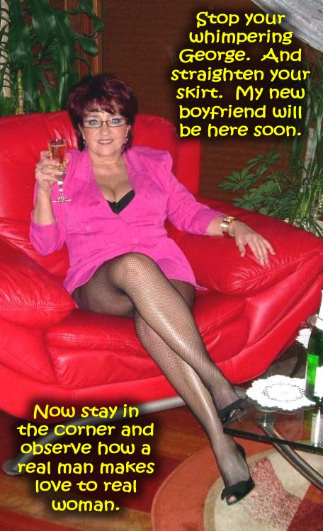My other mature sissy