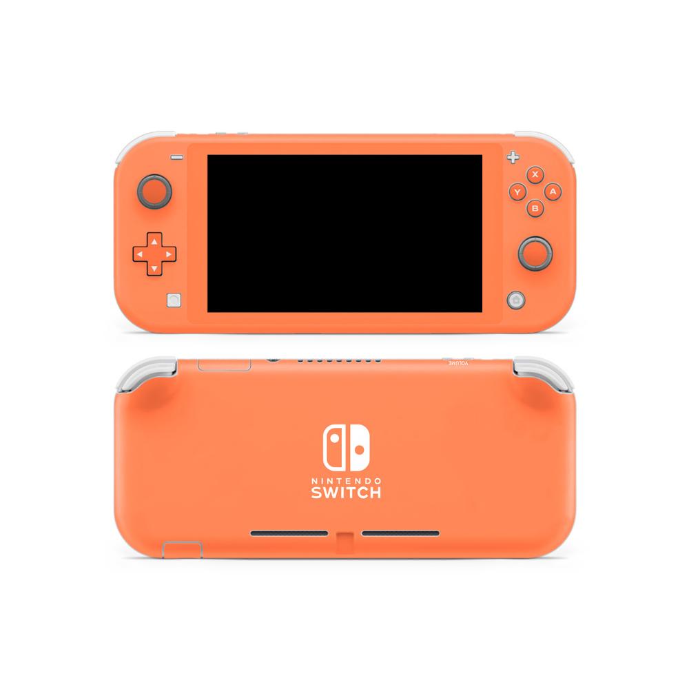 Coral Switch Lite Skin Nintendo Switch Accessories Switch