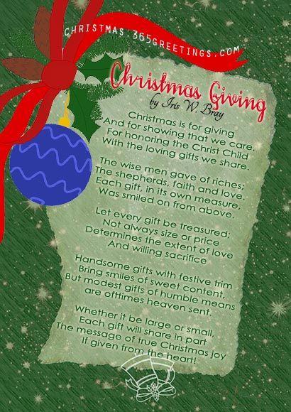 Short Christmas Poems Christmas Verses Christmas Poems