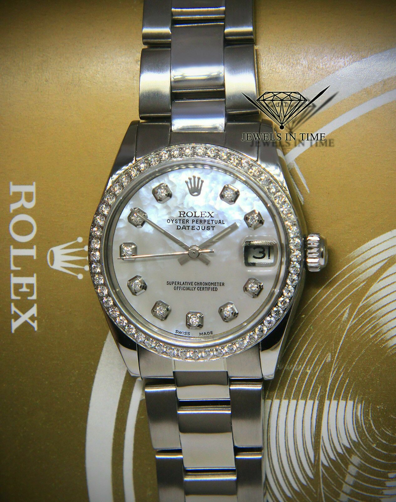 Rolex Datejust Lady 31 in 2020 Rolex, Rolex watches for