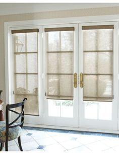 Solar Shade For Bedroom Door To Exterior.