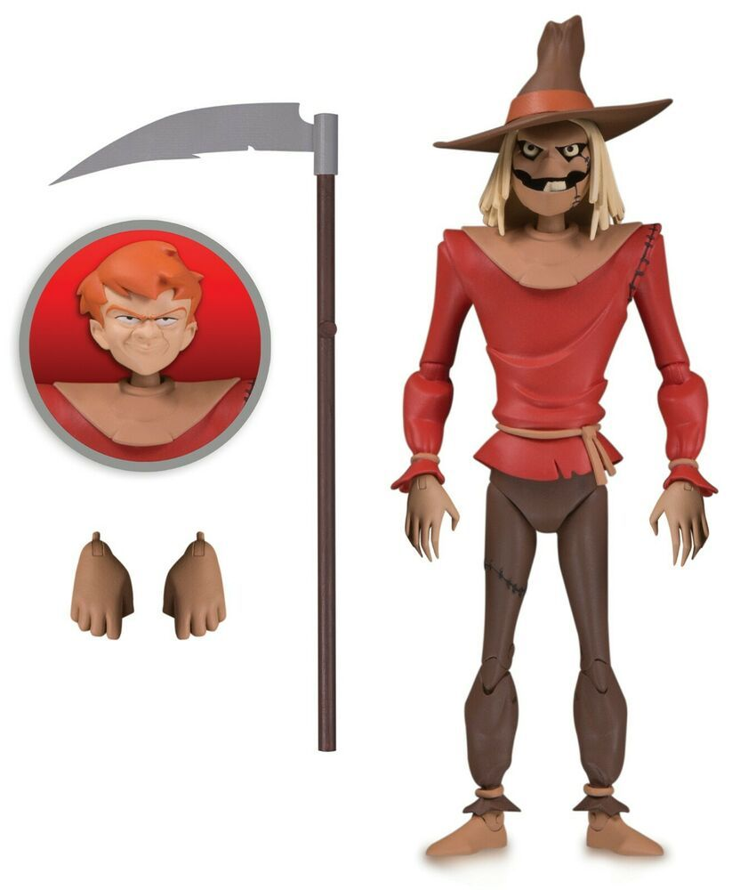 NBA DC Collectibles New Batman Animated Adventures Scarecrow 6in Action Figure