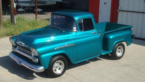 1958 Chevy Apache Truck Pickups 1958 Chevy Truck Apache Custom On