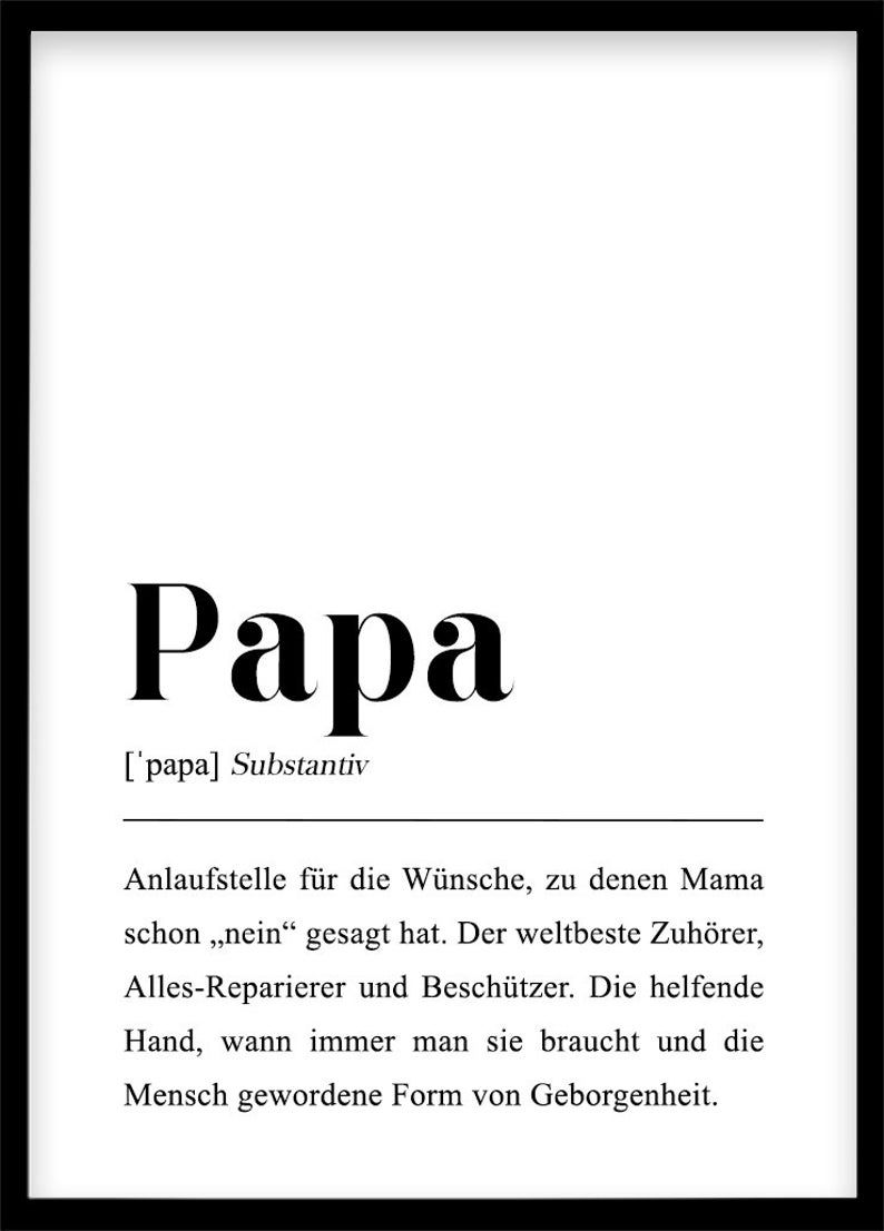 Papa Definition Etsy In 2020 Definitions Letters Of Note Papa