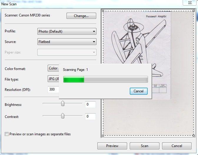 cara scan dokumen dengan printer epson l360