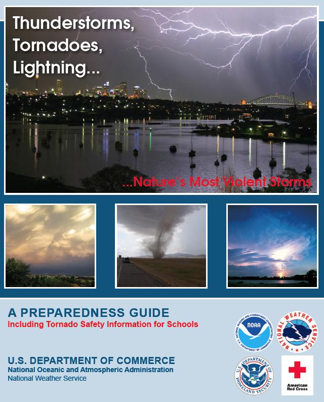 US Dept of Commerce Preparedness Guide for Thunderstorms