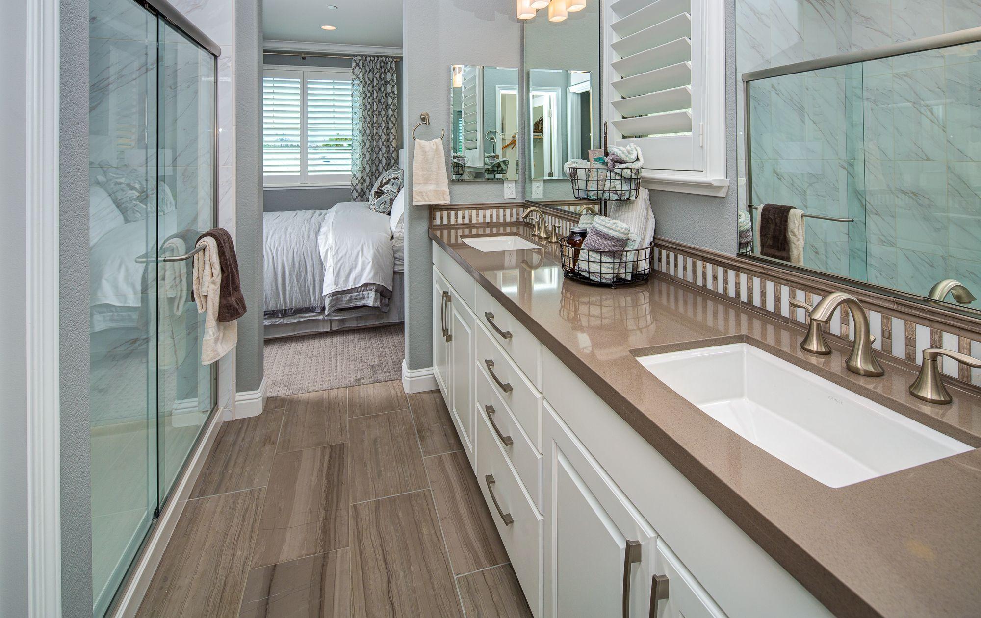 Master Bathroom L Plan B L Brighton By Taylor Morrison L Livermore - Bathroom remodel livermore ca