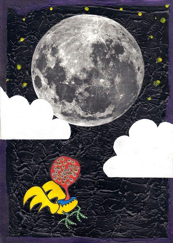 """""""Olhinhos vendo a lua"""" (2014)  vendido  LOJA: http://tgreguol.com.br FOTOS: http://bit.ly/1aYIdgE PÁGINA: https://www.facebook.com/tgreguol VIDEOS: http://bit.ly/15d6Unl"""