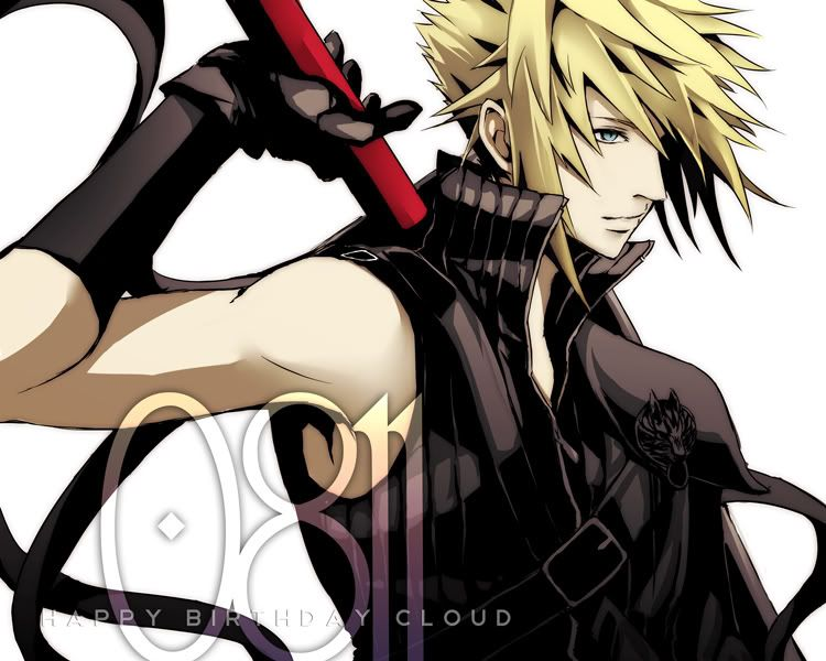 Final Fantasy 7 Anime Characters : Anime blond hair blue eyes character inspiration