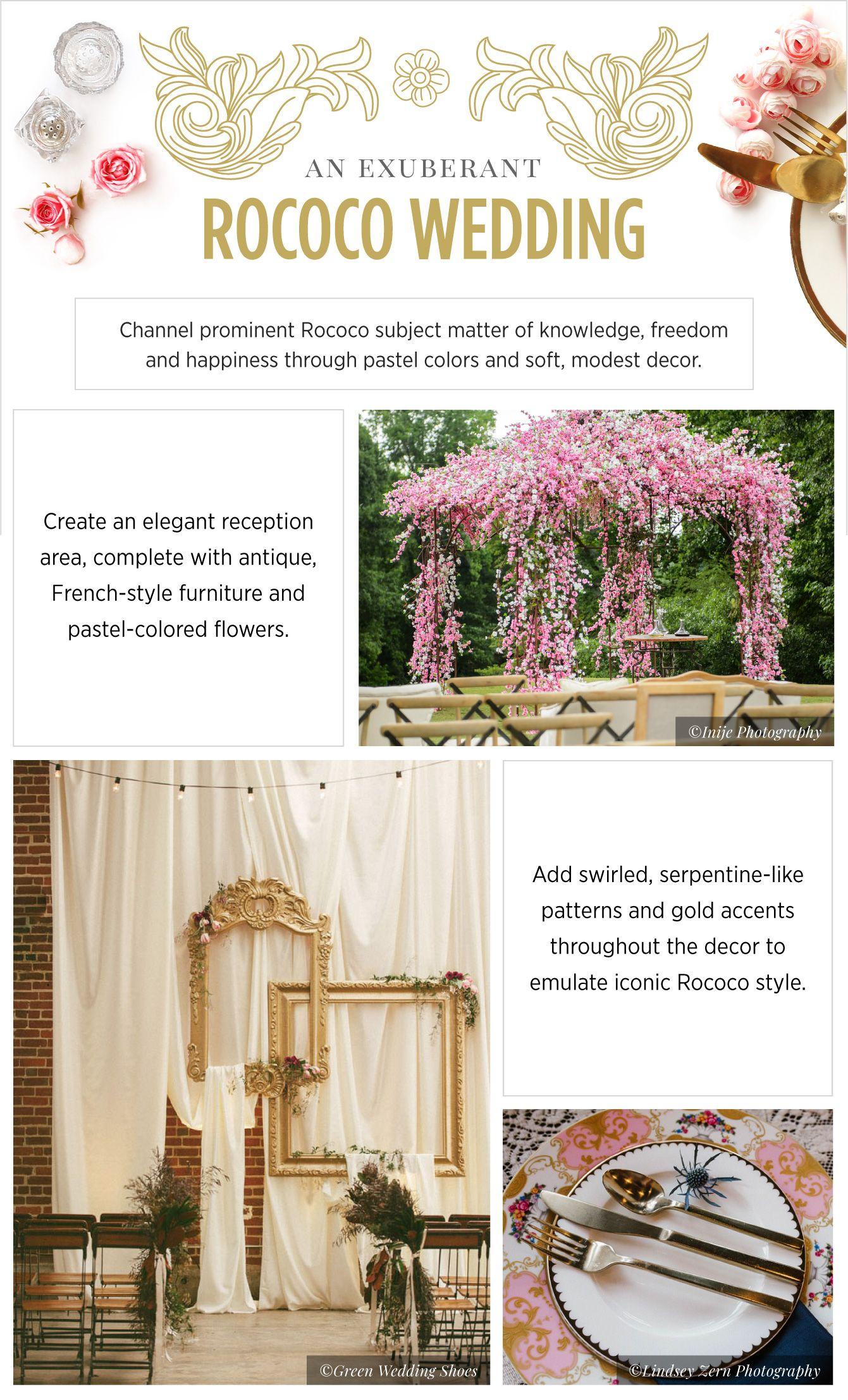 Wedding Decoration Ideas Inspired by Art Movements   Wedding decorations,  Wedding, Art nouveau weddings