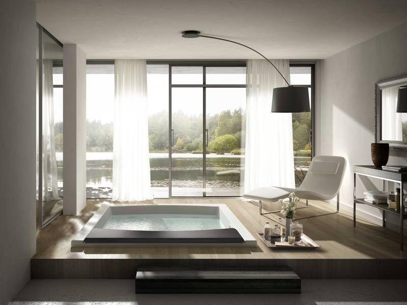 Vasca Da Bagno Di Grandi Dimensioni : Vasca da bagno a posti idromassaggio seaside t by teuco design