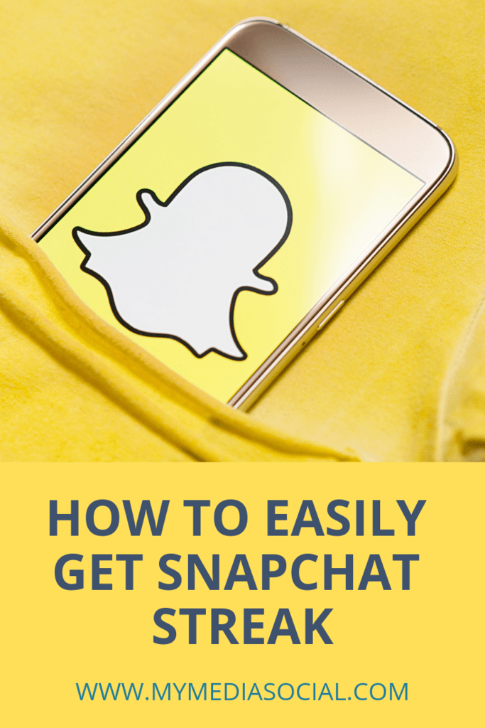 What Is Snapchat Streak And How To Get It My Media Social Snapchat Streak Streak How To Get Snapchat
