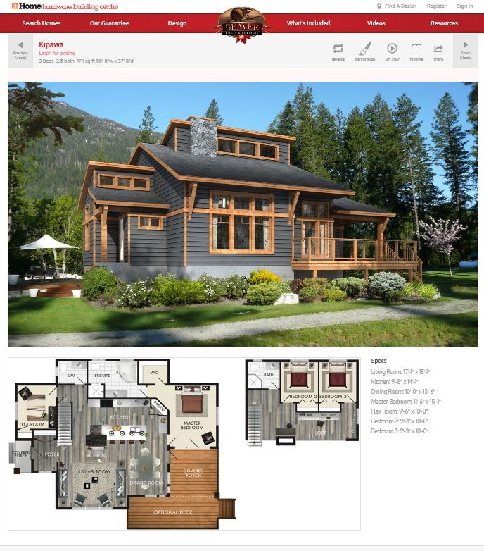 Do It Yourself Home Design: From The Beaver Homes And Cottages Site.