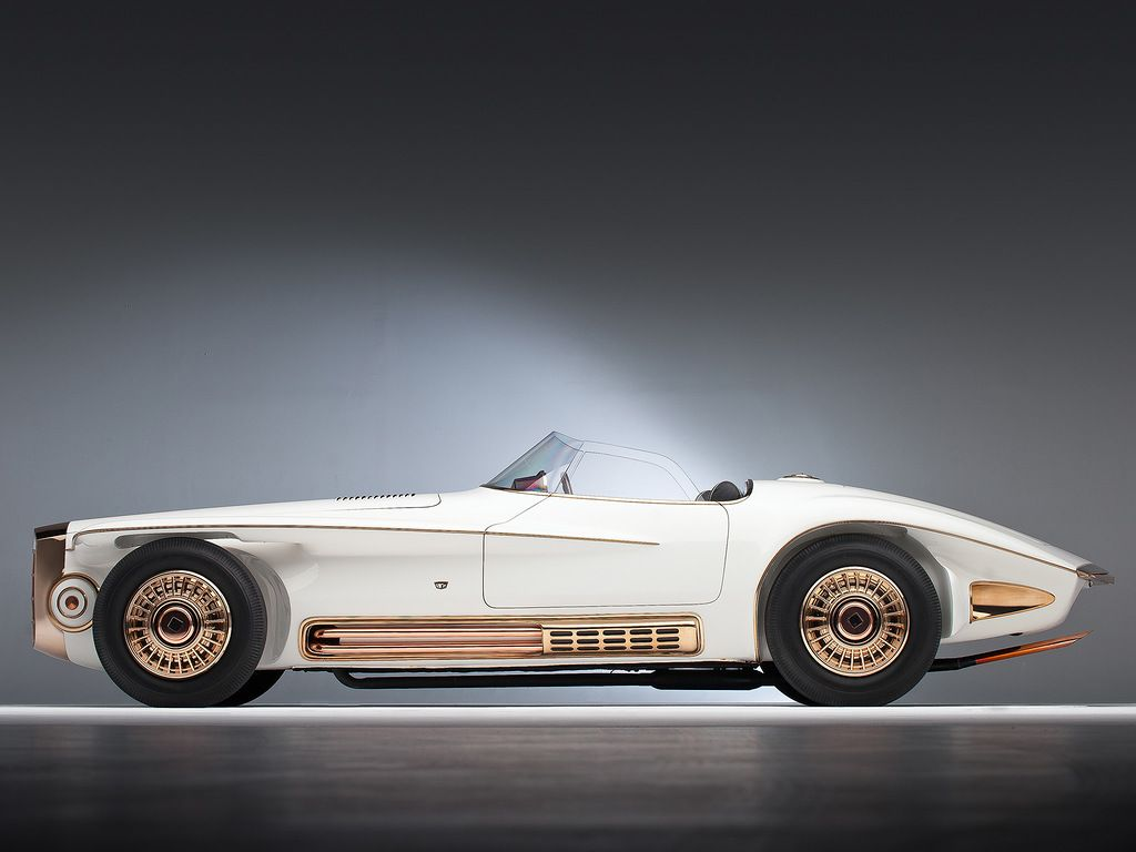 Mercer Cobra Roadster by Virgil Exner 1965.