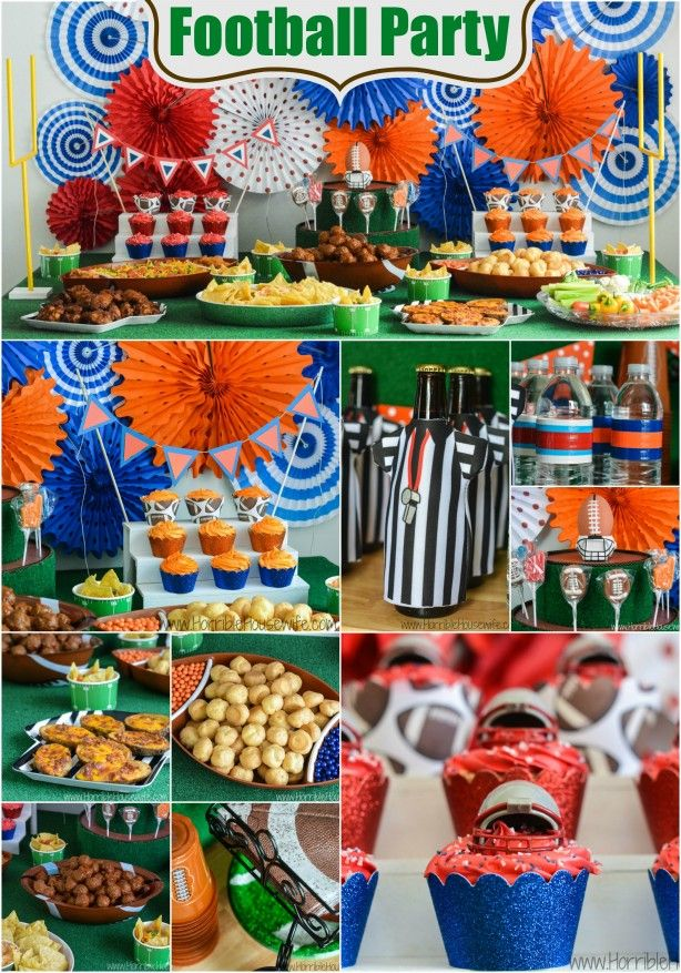Football party ideas- food, drinks, decorations, and more #onebuyforall #shop #cbias