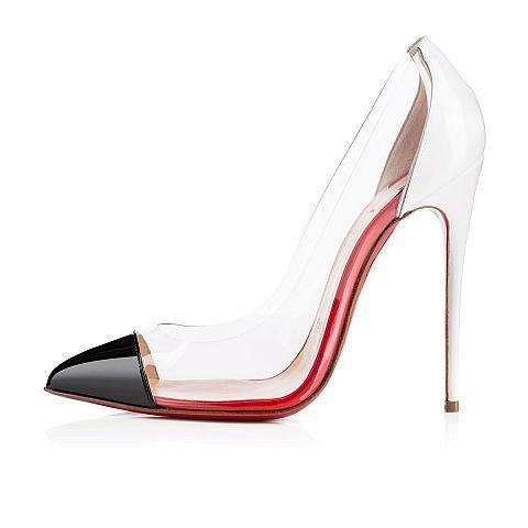 1c91eccaa3c Christian Louboutin Debout 120 Black Court Shoes