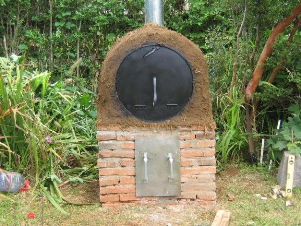 C mo construir un horno chileno con barro clay oven for Como construir un horno