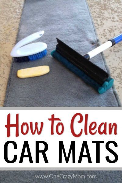 How to clean car mats - The best way to clean car mats #cleaningcars
