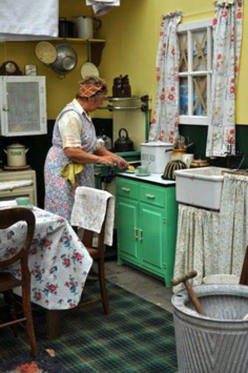 Bits And Pieces From The Farmhouse Kitchen Cocina De Epoca