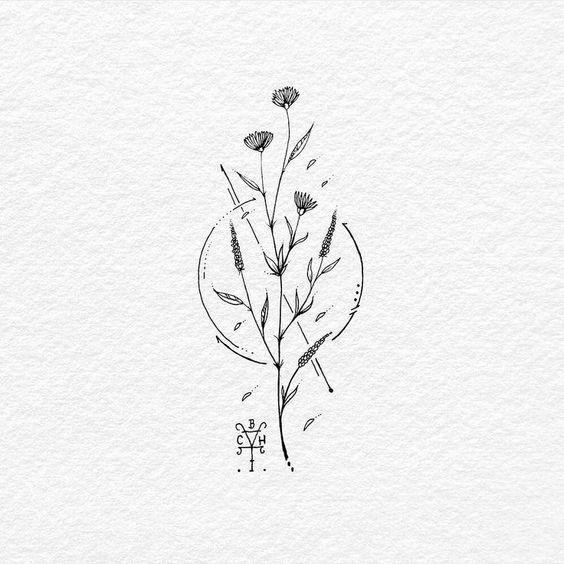 Eine freudige Reise – Eine freudige Reise: BACHT Drawing & Illustration, #bacht …  Blumen zeichnen #tattoostyle – tattoo style