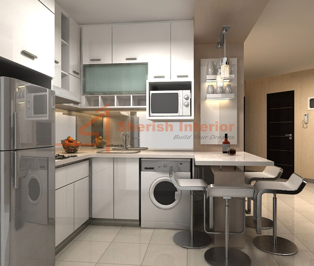 Apartment Kitchen Idea Interior Apartment Kitchen Decoration Set