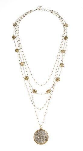A What-to-Wear Guide to the Real Life Holidays   Her Desk to Date Night   Layered Necklace   Lucky Brand