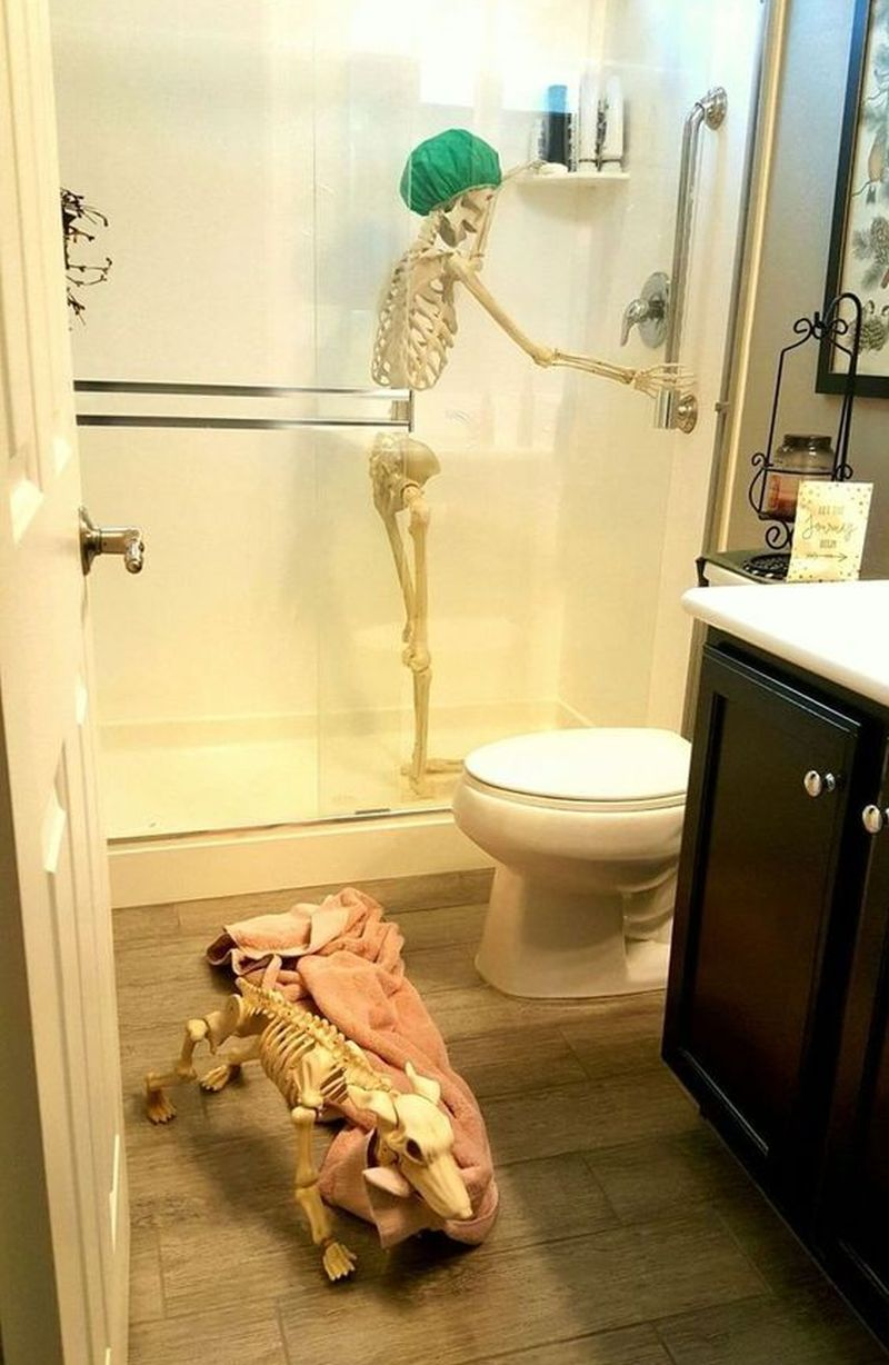 Photo of 10 Spooky Halloween Bathroom Decorating Ideas for 2020