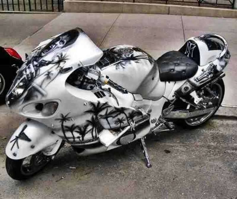 The Suzuki Hayabusa is the worlds fastest street legal motorcycle ...