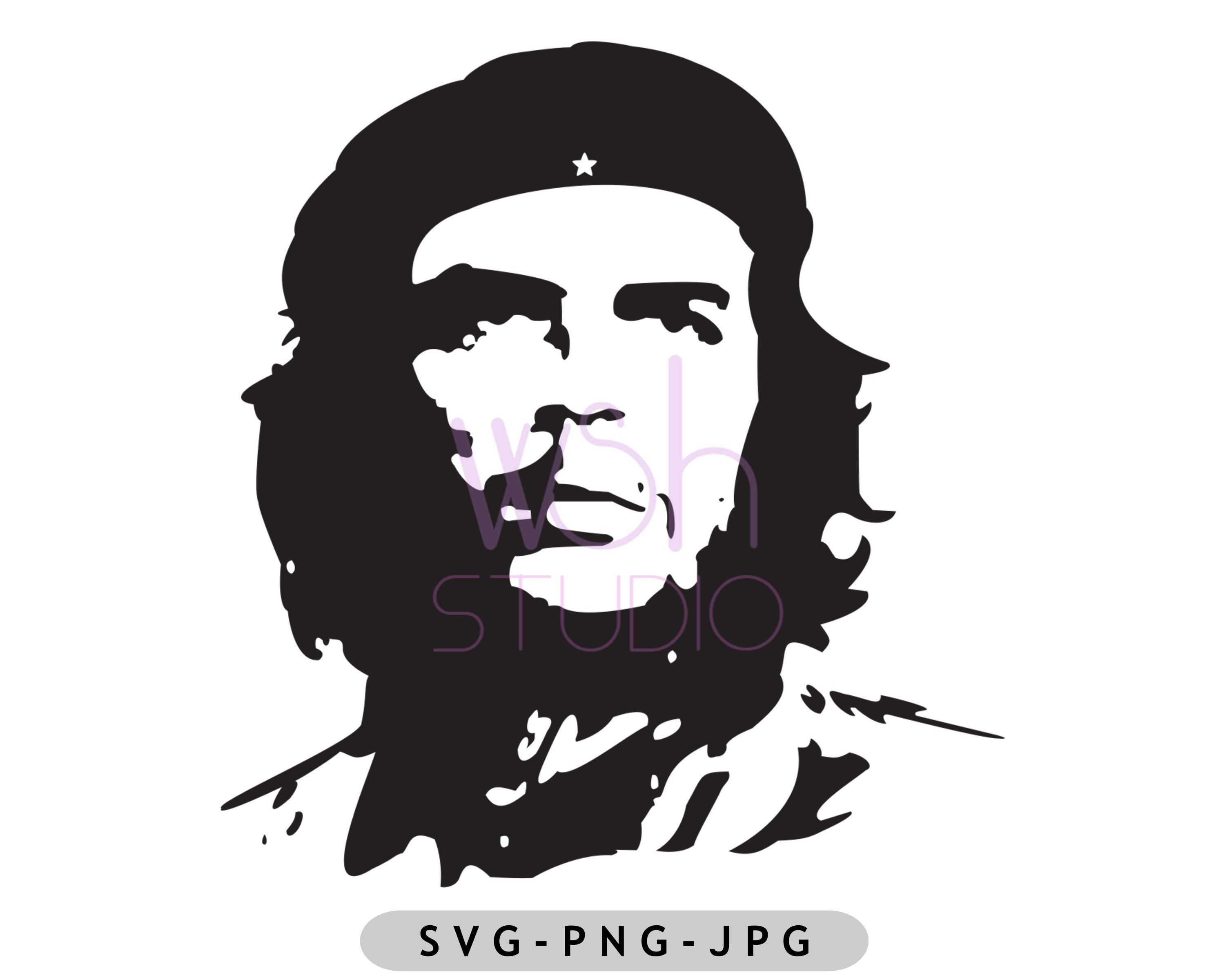 Buy 4 Pay For 2 Che Guevara Logo Digital Download Svg Png Etsy In 2021 Vector Logo Che Guevara Png Images