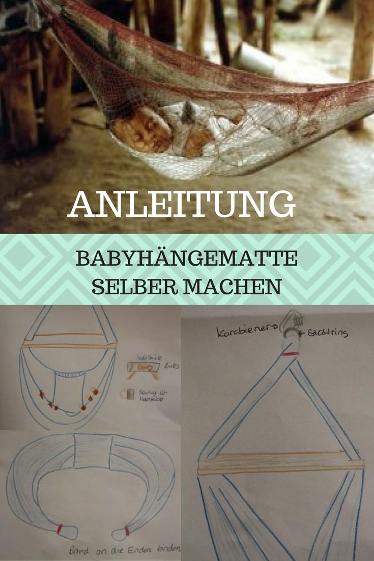 tolle anleitung um baby hängematte zum selber machen ✰ | rund um