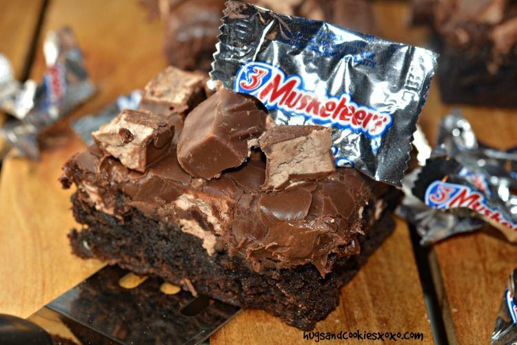 3 Musketeers Fudge Brownies Recipe Fudge Brownies Fudge