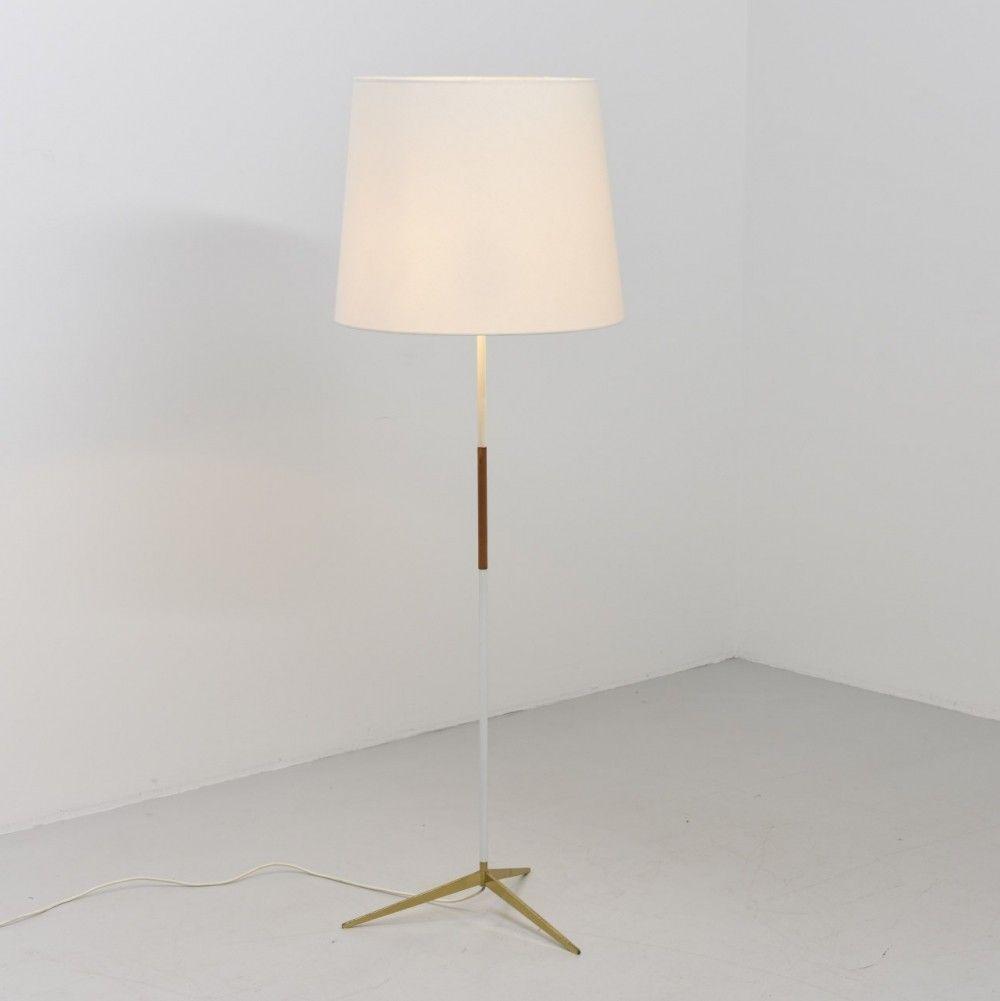 Micheline Floor Lamp By Jt Kalmar For Kalmar 1950s Floor Lamp