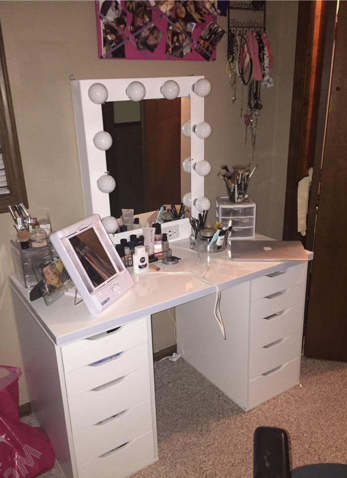 """Custom Vanity Mirror Standard 30""""H 24""""W White, dimmer/USB ..."""