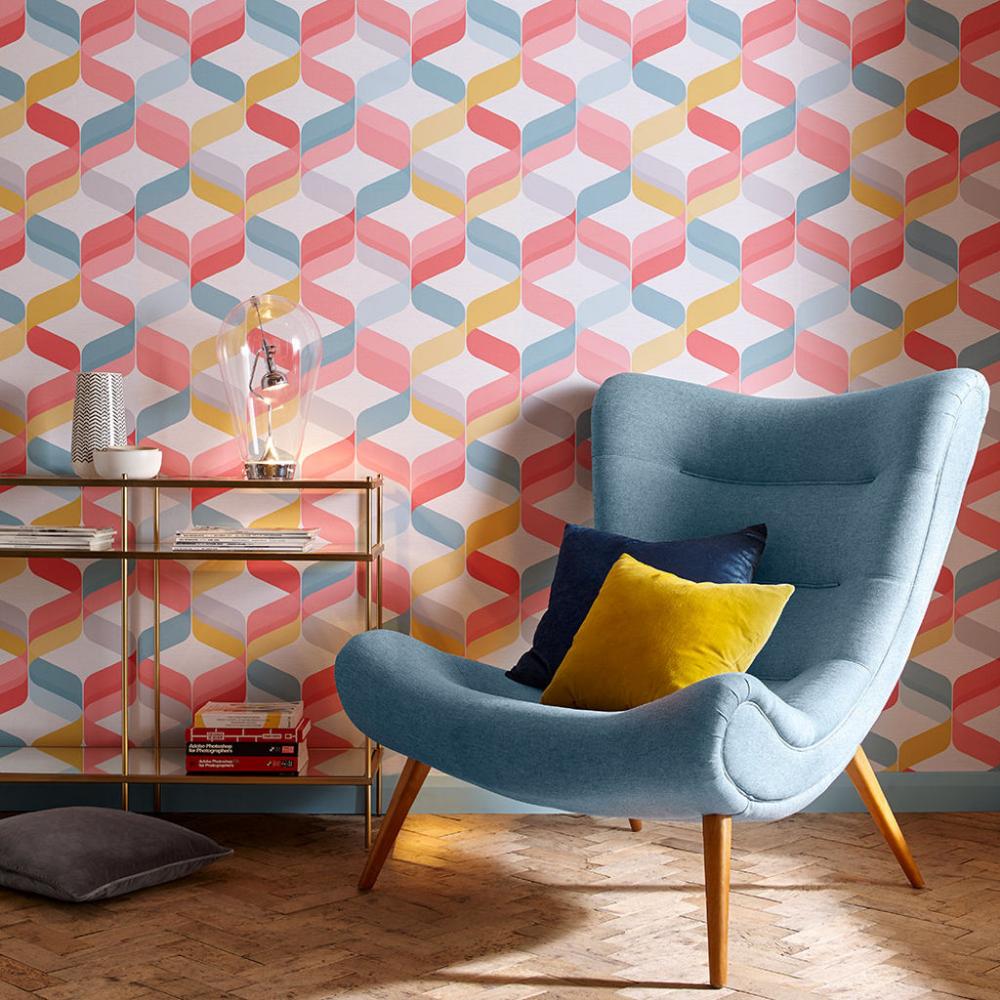 Pin by Daniel Grace on Office | Bright wallpaper, Brown ...
