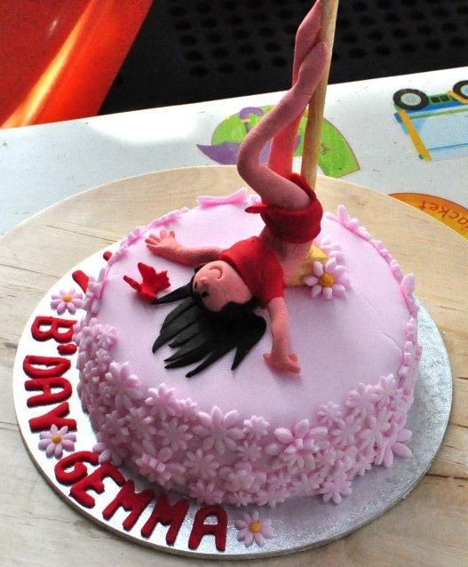 Pole Dancing Cake Enquire Via Www Facebook Com