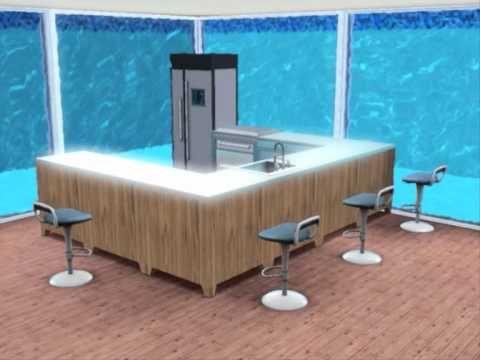 ▷ Sims 3 underwater house - YouTube | Sims | Pinterest